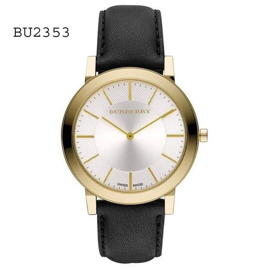 Preload https://item1.tradesy.com/images/burberry-men-s-slim-silver-dial-gold-tone-quartz-bu2353-watch-23174765-0-0.jpg?width=440&height=440