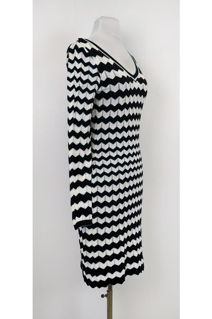 Missoni short dress White Chevron Print on Tradesy