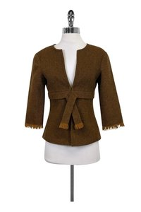 Trina Turk Wool brown Blazer