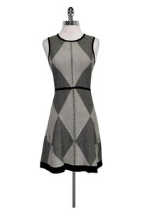 Karen Millen short dress black White Flared on Tradesy