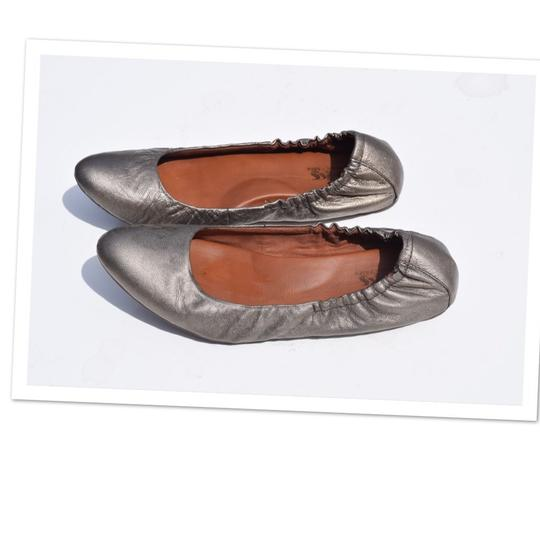 Preload https://img-static.tradesy.com/item/23174805/kork-ease-pewter-leather-ballet-flats-size-us-85-regular-m-b-0-0-540-540.jpg