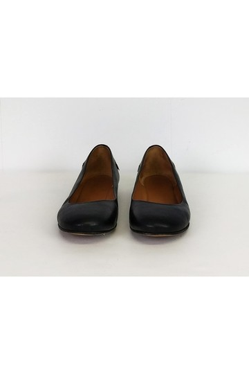 Givenchy Gold Trim 7.5 Black Flats