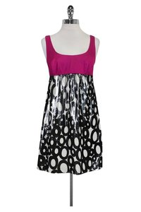 Trina Turk short dress Pink Silver on Tradesy