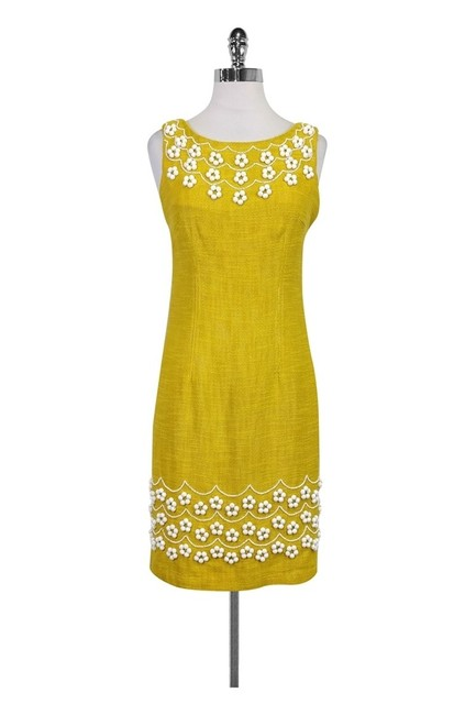 Preload https://img-static.tradesy.com/item/23174866/milly-yellow-short-casual-dress-size-4-s-0-0-650-650.jpg