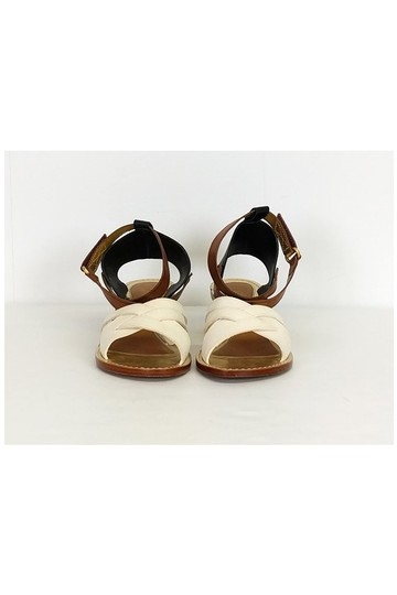 Leifsdottir Black cream Sandals