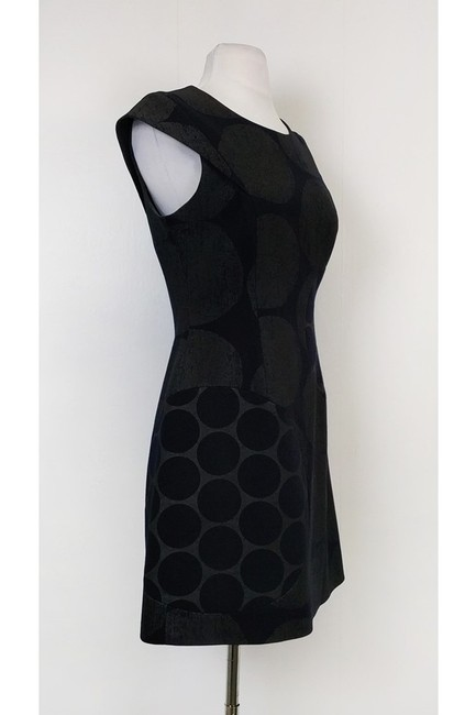 Karen Millen short dress Black Grey Print on Tradesy