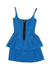 Jay Godfrey short dress blue Electric on Tradesy