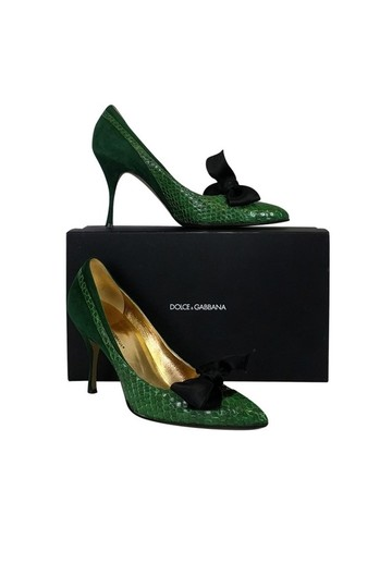 Preload https://img-static.tradesy.com/item/23174906/dolce-and-gabbana-green-pumps-size-us-9-regular-m-b-0-0-540-540.jpg