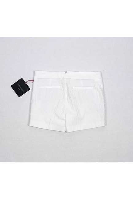 Cynthia Rowley Textured Dress Shorts White