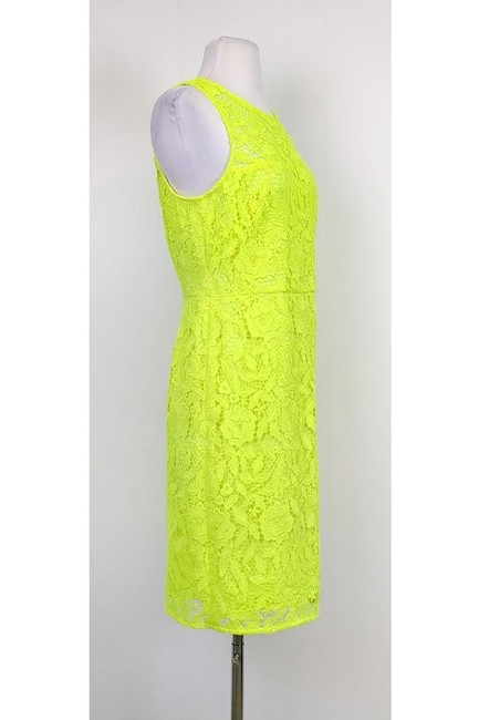 J.Crew short dress yellow Neon on Tradesy