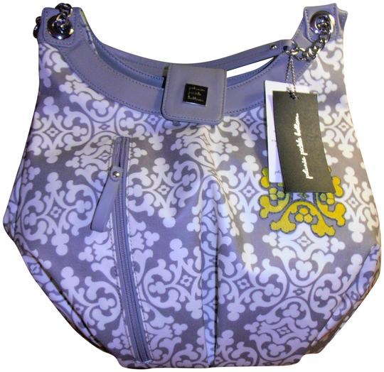 Petunia Pickle Bottom Hobo Breakfast In Berkshi Gray with yellow Diaper Bag