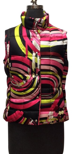 Preload https://item2.tradesy.com/images/emilio-pucci-pink-yellow-black-white-pink-yellow-black-geometric-printed-padded-vest-size-10-m-23174936-0-1.jpg?width=400&height=650