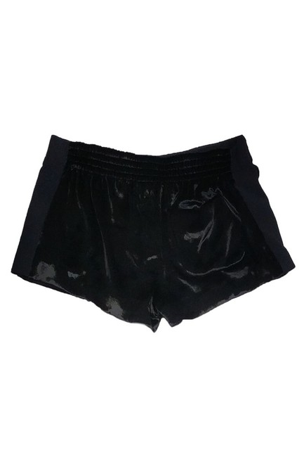 Rag & Bone Velour Dress Shorts Black