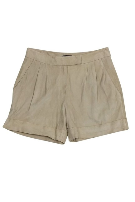 Theory Lamb Suede Shorts Khaki/Chino Pants