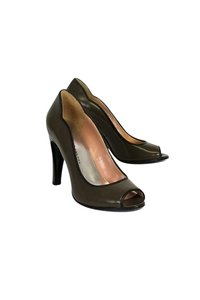 Marc by Marc Jacobs Olive Green Pumps