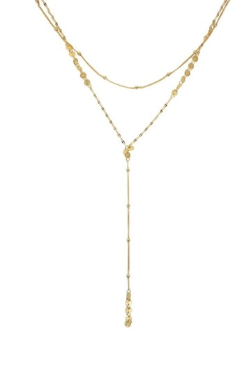 Preload https://item2.tradesy.com/images/gold-layered-drop-necklace-23175026-0-0.jpg?width=440&height=440