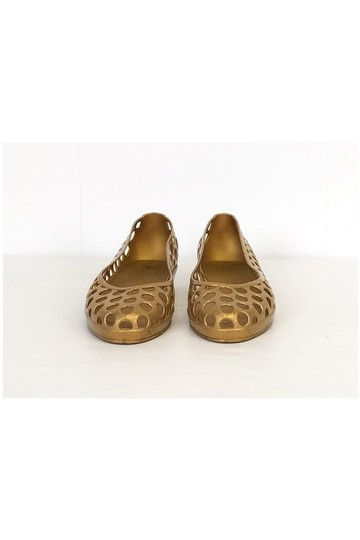 Marc Jacobs Jelly gold Flats