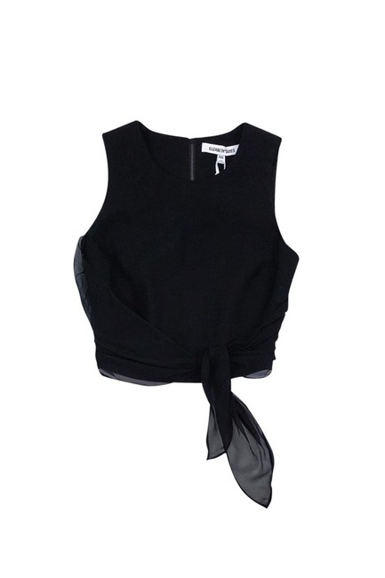 Preload https://item3.tradesy.com/images/elizabeth-and-james-black-activewear-top-size-0-xs-23175077-0-0.jpg?width=400&height=650