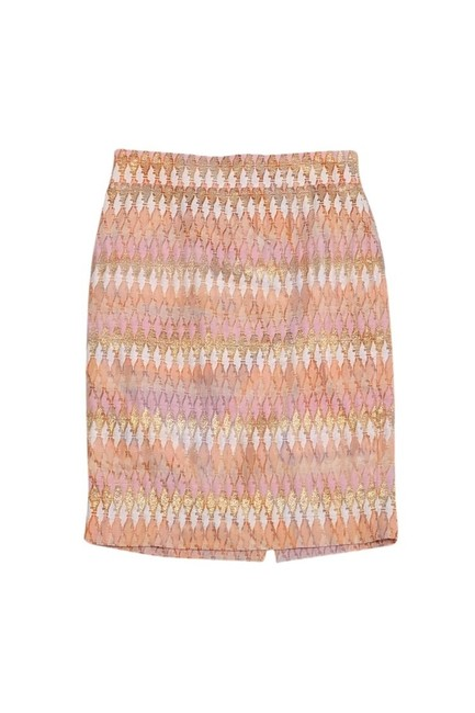 J.Crew Collection Peach Pencil Skirt Pink
