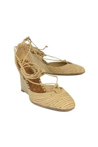 Bottega Veneta Espadrille Tan Wedges