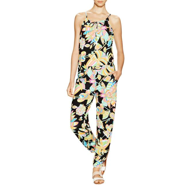 Preload https://item2.tradesy.com/images/trina-turk-black-floral-long-romperjumpsuit-size-2-xs-23175141-0-0.jpg?width=400&height=650