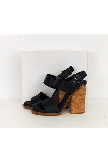 Vince Haley Black Sandals