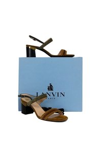 Lanvin Green brown Sandals
