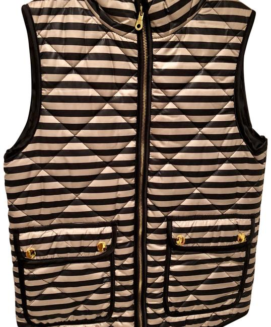 Preload https://item1.tradesy.com/images/daniel-cremieux-blackcream-vest-size-0-xs-23175175-0-1.jpg?width=400&height=650