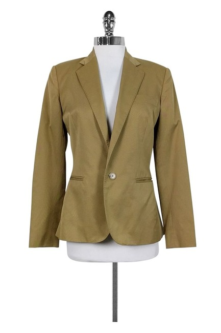 Ralph Lauren Fitted Tan Blazer