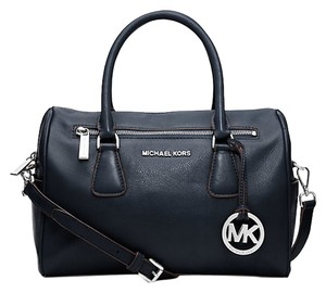 Michael Kors Satchel in Navy Blue