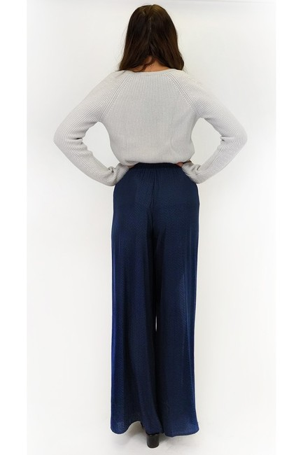 The Room Wide Open Space Straight Pants blue