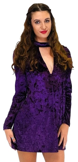 Preload https://img-static.tradesy.com/item/23175276/purple-short-casual-dress-size-4-s-0-1-650-650.jpg