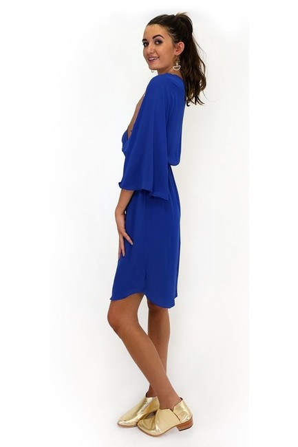 Everly short dress blue Flutter By Lace Up on Tradesy