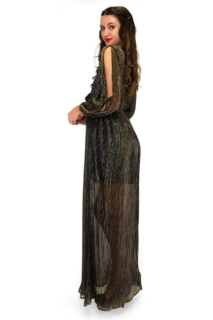 Gold Maxi Dress by The Room Aglow In Maxi