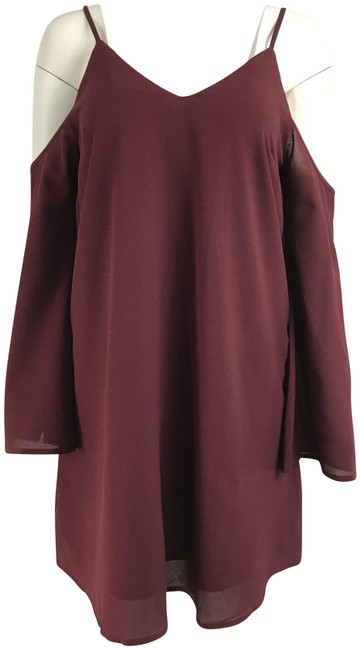 Preload https://item2.tradesy.com/images/sugarlips-red-shoulder-sleeve-short-casual-dress-size-0-xs-23175331-0-3.jpg?width=400&height=650