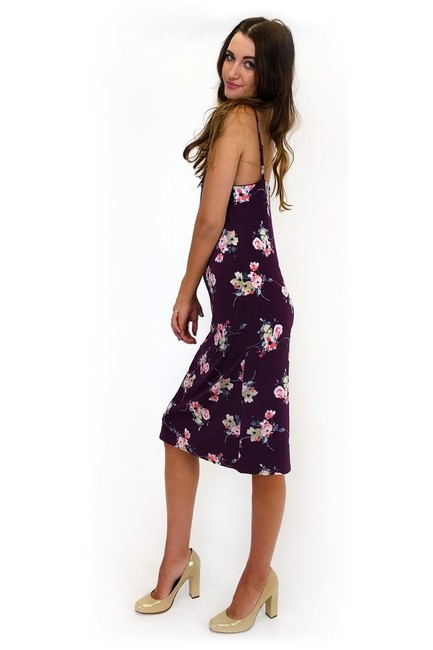 Sugarlips short dress purple Flower Power on Tradesy