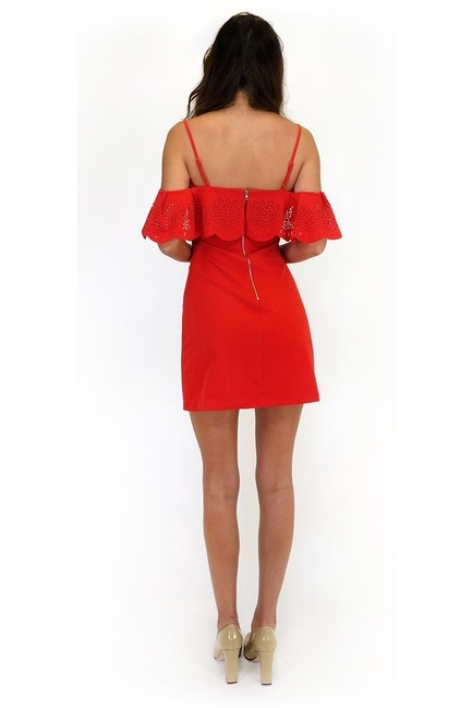 Sugarlips short dress red I Love Eyelet on Tradesy