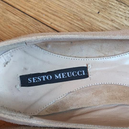 Sesto Meucci light tan Flats