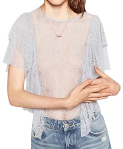 Zara Top pink grey