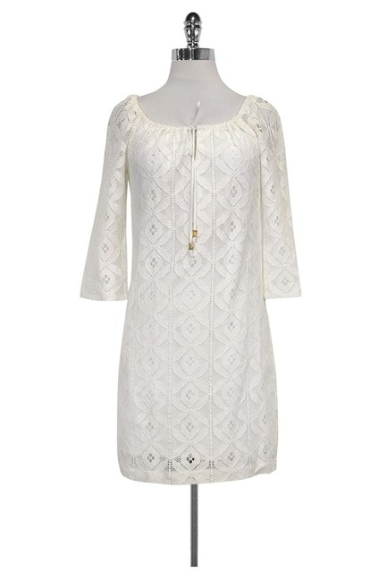 Trina Turk short dress White Lace on Tradesy