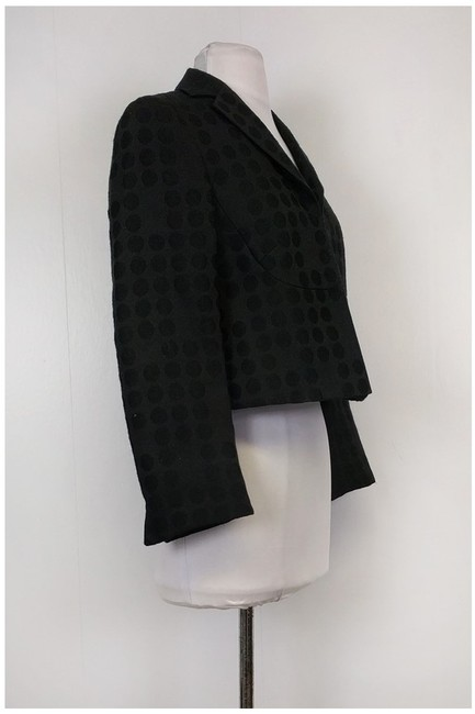 Akris Circle Black Blazer