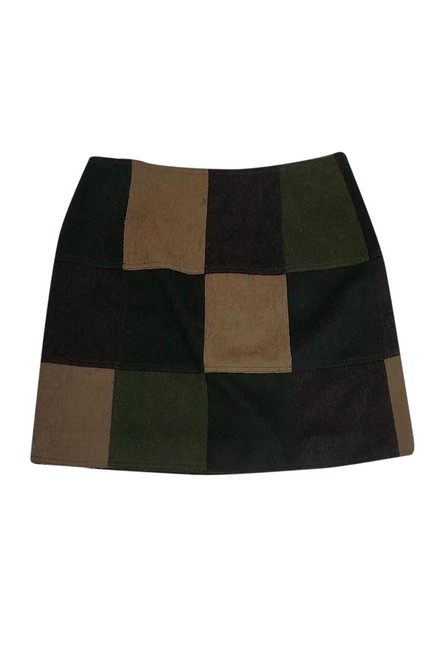 Moschino Cheap Chic Multi Wool Skirt