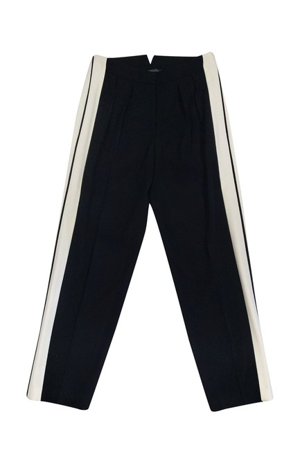 Alexander McQueen Stripe Trouser Pants Black
