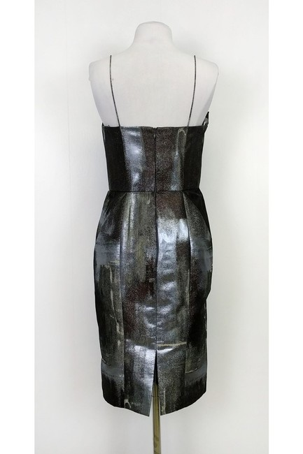 Bill Blass short dress silver Metallic on Tradesy