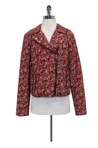 Joie Floral Quilted red Jacket