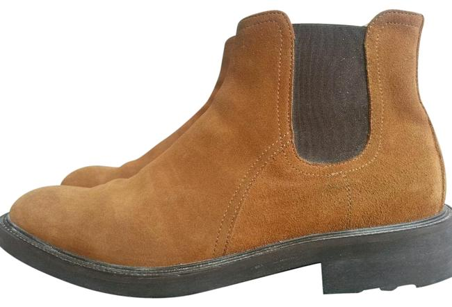 Item - Brown Man Ankle Man Chelsea Made In Italy Boots/Booties Size EU 44.5 (Approx. US 14.5) Regular (M, B)