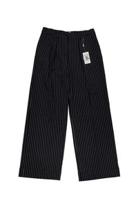 Armani Collezioni Grey Pin Stripe Straight Pants