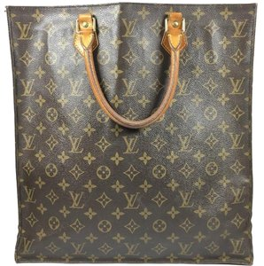 Louis Vuitton Lv Sac Plat Sac Plat Plat Vintage Sac Plat Tote in Louis Vuitton Monogram