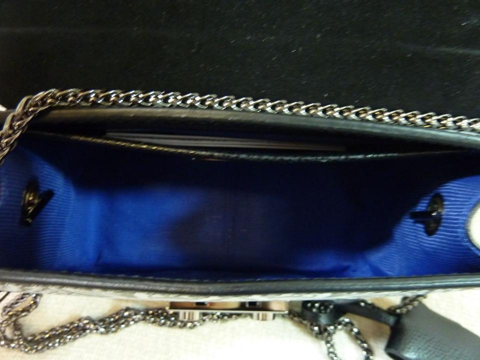 de3a02f50e57 Furla Toni Onyx Mini Metropolis Black and Gray Leather Cross Body ...