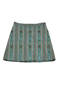 Alice + Olivia Mint Green Tribal Skirt
